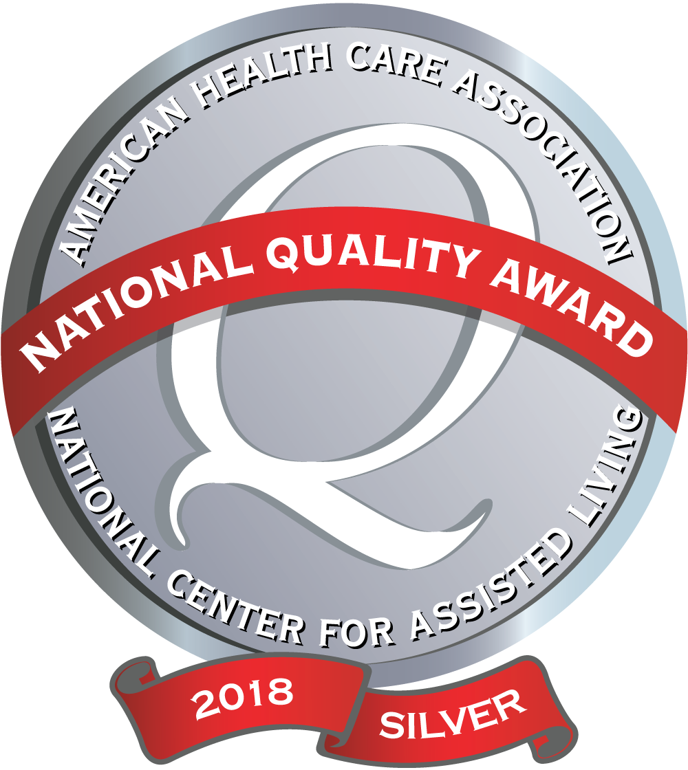 AHCA 2018 Silver National Quality Award.